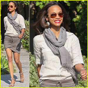 Zoe Saldana Shares Secret to Her Successful Relationship