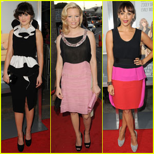 Zooey Deschanel & Elizabeth Banks: 'Idiot Brother' Premiere!