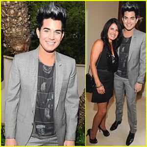Adam Lambert: PFLAG Event with Mom Leila!