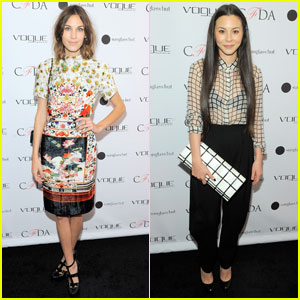 Alexa Chung & China Chow: Vogue Capsule Collection!