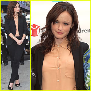 Alexis Bledel: Save the Children!
