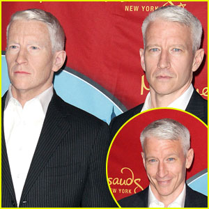 Anderson Cooper: Wax Figure Unveiled!