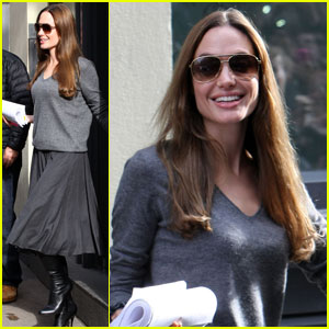 Angelina Jolie Joins Jane Goodall's New Film