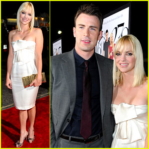 Anna Faris & Chris Evans: 'What's Your Number?' Premiere Pair!