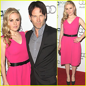Anna Paquin & Stephen Moyer: Point Honor Gala!