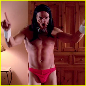 Antonio Sabato Jr.: Thong Dance for 'Balls to the Wall'!