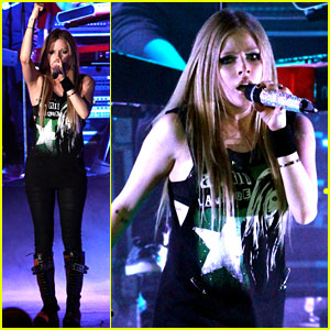 Avril Lavigne: Concert in Paris!