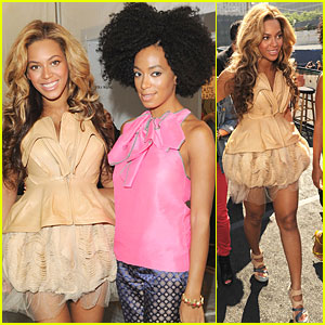 Beyonce: Vera Wang Show with Solange!