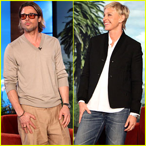 Brad Pitt Talks Marriage Equality With Ellen DeGeneres!