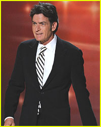 Charlie Sheen Talks 'Men' Death