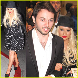 Christina Aguilera & Matthew Rutler: Boxing Match in Vegas!