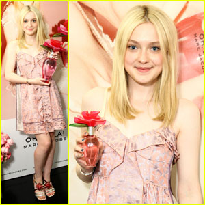 Dakota Fanning: Oh, Lola Marc Jacobs Launch!