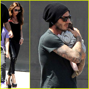 David & Victoria Beckham: Shopping with Harper!
