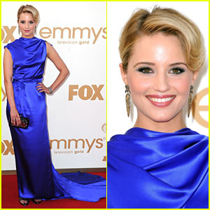 Dianna Agron - Emmys 2011 Red Carpet