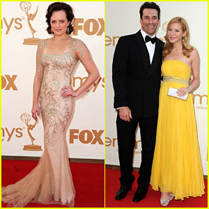 Elisabeth Moss & Jon Hamm: 'Mad Men' Wins Best Drama!