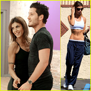 Elisabetta Canalis: 'Dancing with the Stars' Rehearsal Pics!