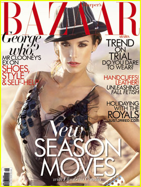 Elisabetta Canalis Covers 'Harper's Bazaar Arabia'