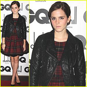 Emma Watson: GQ Men of the Year Awards!