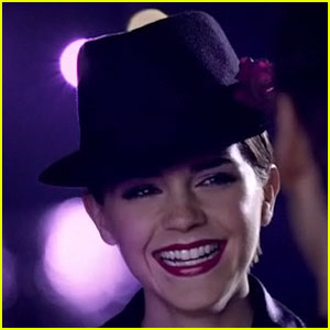 Emma Watson: Lancome 'Tresor Midnight Rose' Commercial!