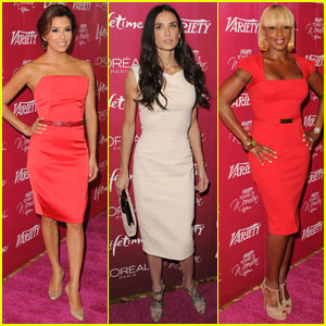 Demi Moore & Mary J. Blige: Luncheon Ladies