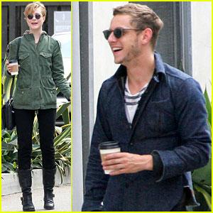 Evan Rachel Wood & Jamie Bell: Cute Coffee Couple!