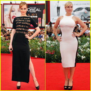 Evan Rachel Wood & Kate Winslet Premiere 'Mildred' in Venice