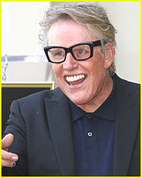 Gary Busey Taping 'Celebrity Wife Swap'