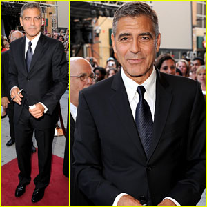 George Clooney: 'Descendants' Premiere & Portraits!