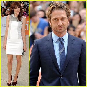 Gerard Butler: 'Machine Gun Preacher' Premiere with Michelle Monaghan!