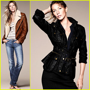 Gisele Bundchen: Esprit Fall/Winter 2011 Campaign Revealed!