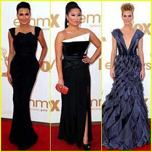 Glee Cast - Emmys 2011 Red Carpet