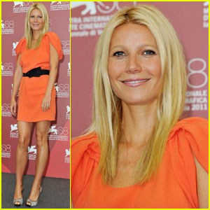 Gwyneth Paltrow: 'Contagion' Photo Call in Venice!