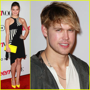 Hailee Steinfeld & Chord Overstreet: Party People!