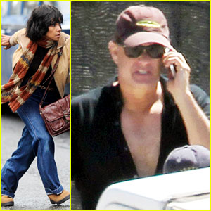 Halle Berry: 'Cloud Atlas' Set with Tom Hanks!