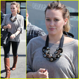 Hilary Duff's Workout Routine Revealed