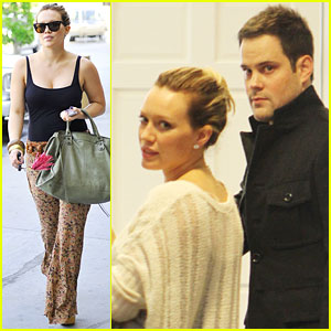 Hilary Duff: Shopping with Mike & Haylie!