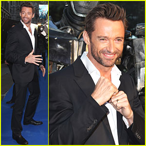 Hugh Jackman: 'Real Steel' UK Premiere!