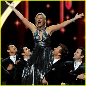 Jane Lynch Sings Her Way Through the 'Emmys' Opening Number!