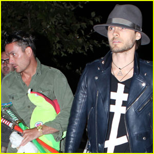 Jared Leto: Chili Cook Off With Balthazar Getty!