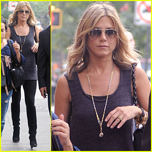 Jennifer Aniston: Good Morning, America!