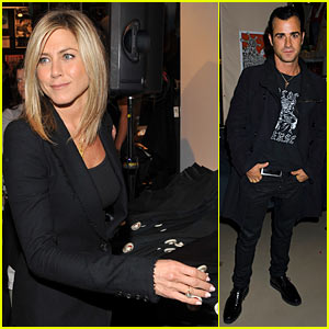 Jennifer Aniston: Hoyle Jackson Launch with Justin Theroux