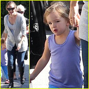 Jennifer Garner: Birthday Bash with the Kids!