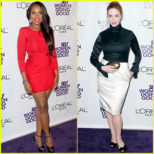 Jennifer Hudson & Christina Hendricks Are Women Doing Good!
