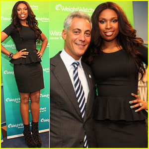 Jennifer Hudson: Weight Watchers Center Opening!