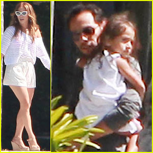Jennifer Lopez & Marc Anthony Reunite for His Birthday