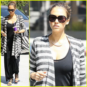 Jessica Alba: Doctor's Appointment with Honor