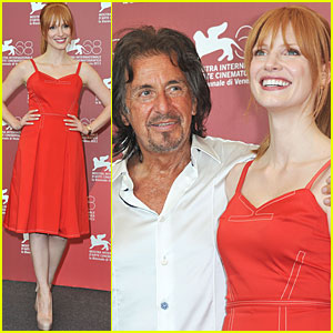 Jessica Chastain & Al Pacino: 'Wilde Salome' Photo Call
