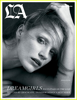 Jessica Chastain Covers 'Los Angeles Times' Magazine