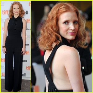 Jessica Chastain Premieres 'Take Shelter' at TIFF