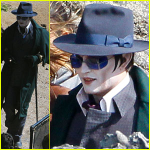Johnny Depp: Vampire Makeup for 'Dark Shadows'!